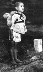 Nagasaki cremation boy