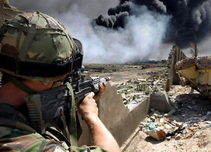 Iraq battle