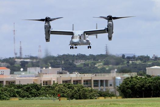 Osprey airplane