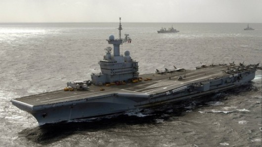 France aircraft carrier